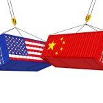 Ilustrasi perang dagang China vs Amerika iStock