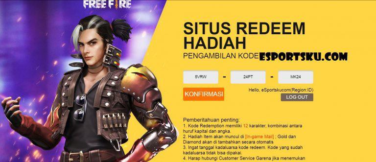 Ayo Klaim Kode Redeem FF 26 September 2020, Simak Cara Menukarnya |  Infopena.com