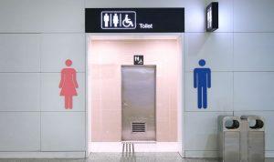 Toilet umum pandemi COVID-19