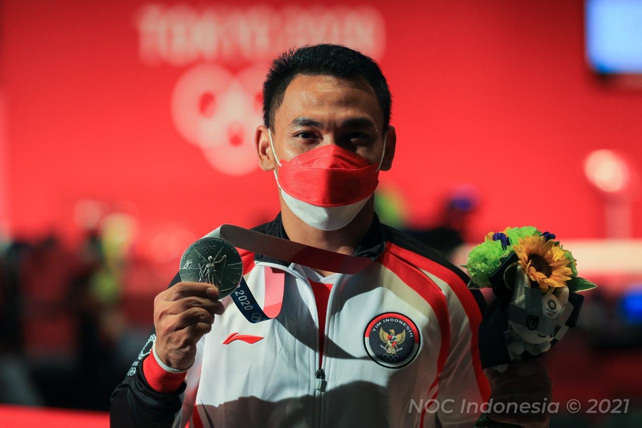 9973Eko Yuli Saya Persembahkan Medali Ini untuk Keluarga dan Masyarakat Indonesia